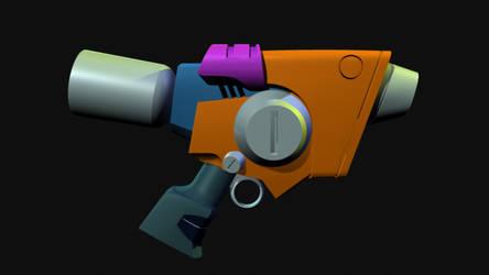 Ray Gun by KypFox