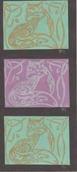 Fox Prints by Jackofalltrades150