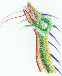 Crayola Dragon by Jackofalltrades150