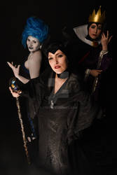 lady Hades, Evil Queen and Maleficent