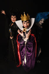 Maleficent, Lady Hades and Evil Queen
