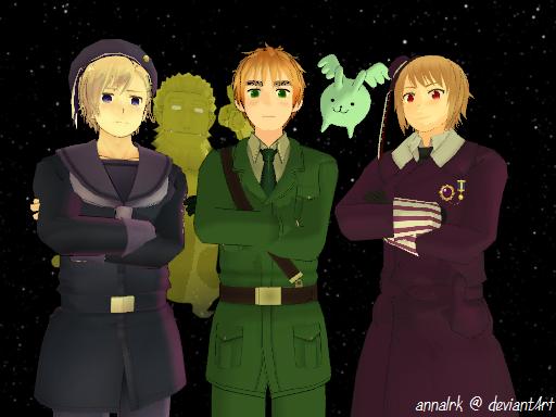Magic Trio by annalrk