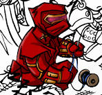 Sidereal Ninja-Chibi, property of Melissa Uran
