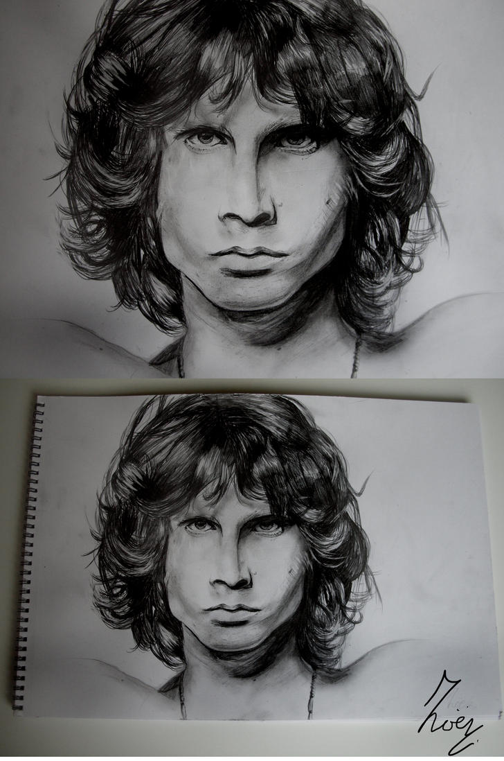 Jim Morrison by Salu-chan