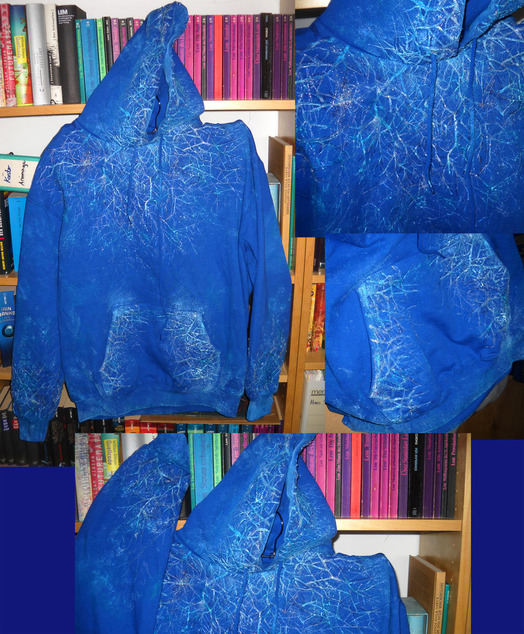 Jack Frost Hoodie by dango-Yullen-soba