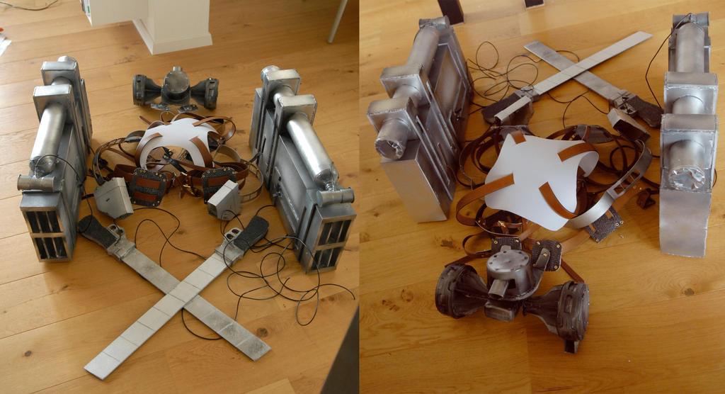 Attack on Titan - 3D Gear by dango-Yullen-soba