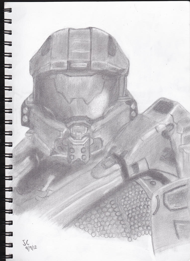 Master Chief by M4NGL3