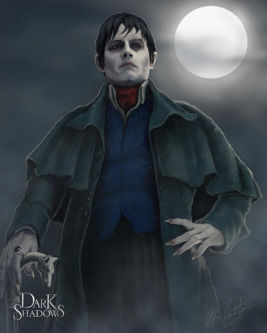 Barnabas Collins Portrait by chamil20