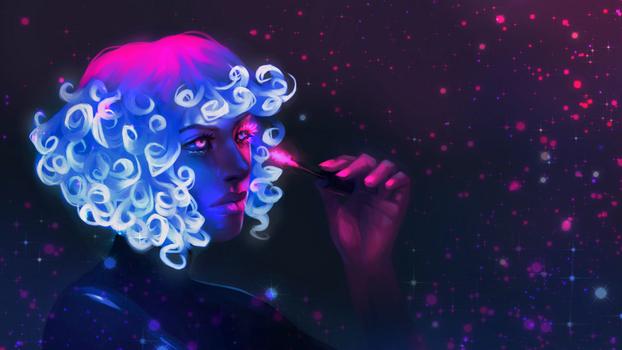 Neon Mascara