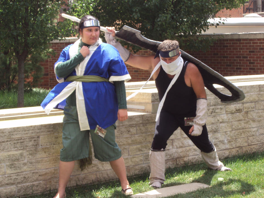 zabuza and haku cosplays by youikina on deviantart