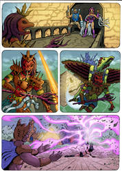 The Coming of the Towers page 67