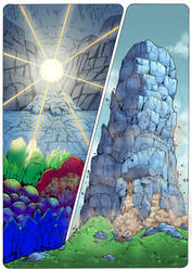 The Coming of the Towers page 68