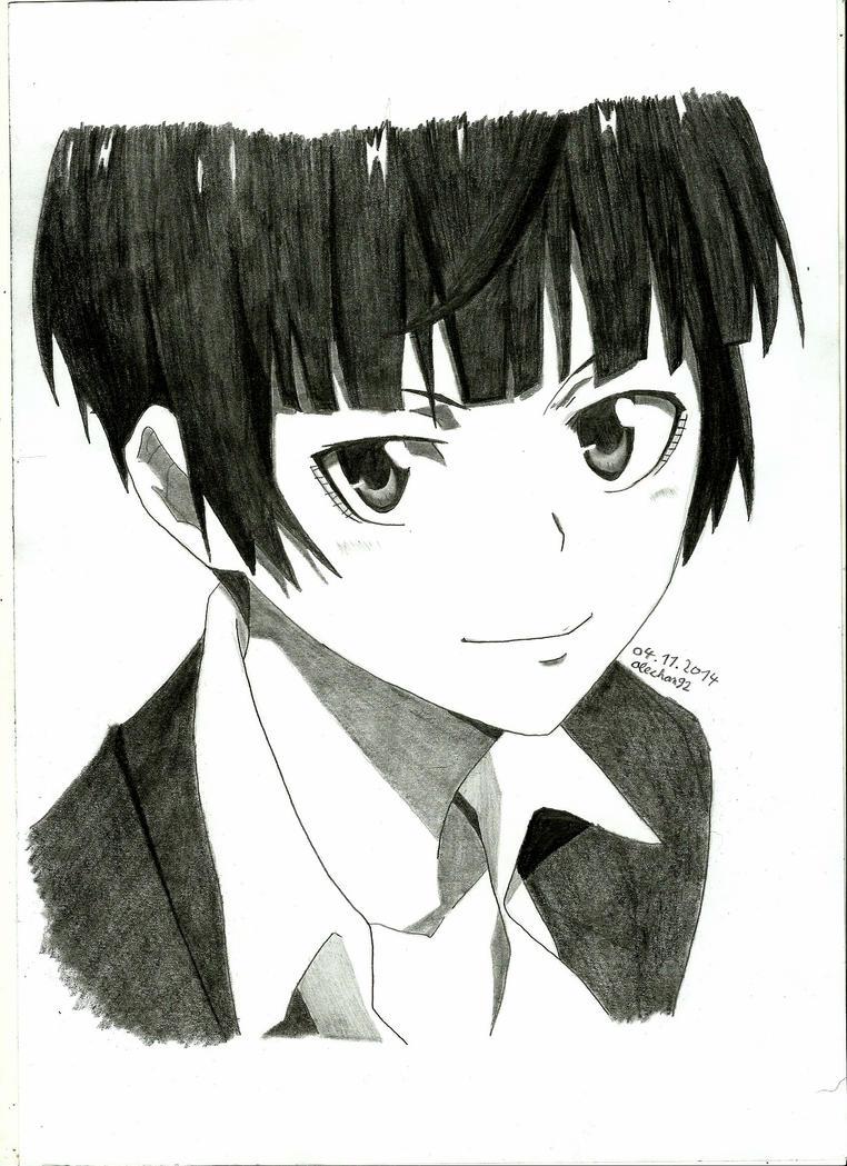 Tsunemori Akane by alechan92