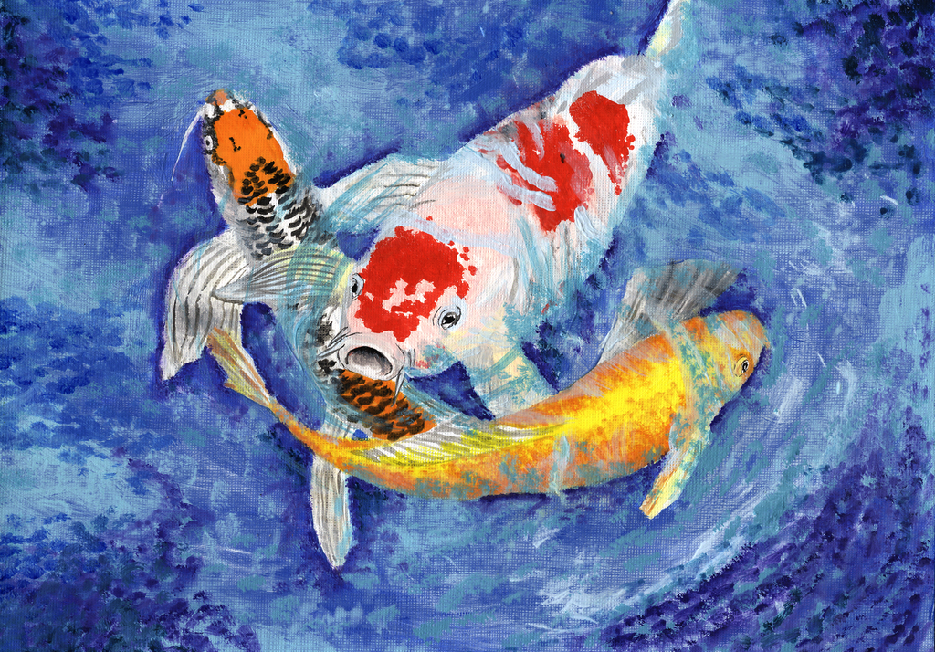 Koi fish by alechan92 on deviantart for Koi 9 en israel