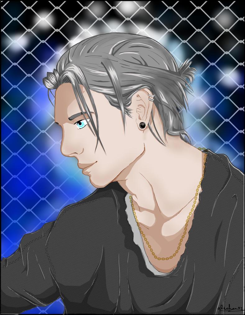 Anime guy by alechan92