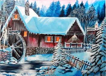 Winter landscape 6 by alechan92