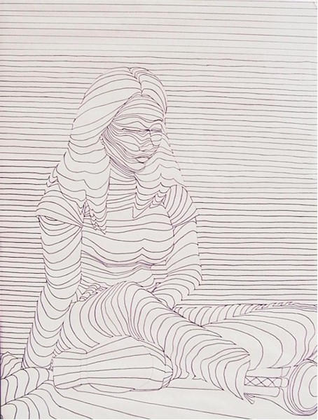 Contour Line Drawing People : Contour line portrait by alycorn on deviantart