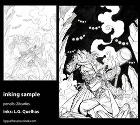 Inking Sample 09 by lgquelhas