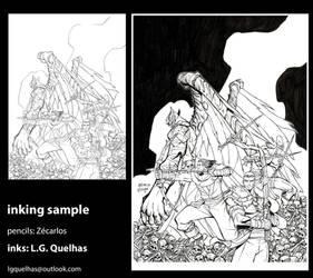 Inking Sample 10 by lgquelhas