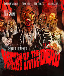 BLU-RAY COVER - Night of the Living Dead - Remake by SimonSherry