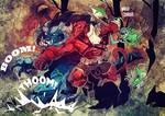 Hellboy versus Bular!