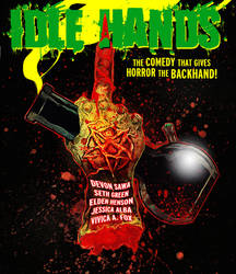 Blu-Ray cover - Idle Hands by SimonSherry