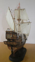 Golden Hind (Rear)