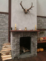 Fireplace (Final View)