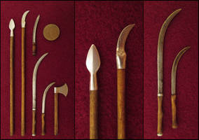 My Little Collection Of Dacian Weapons by AtriellMe