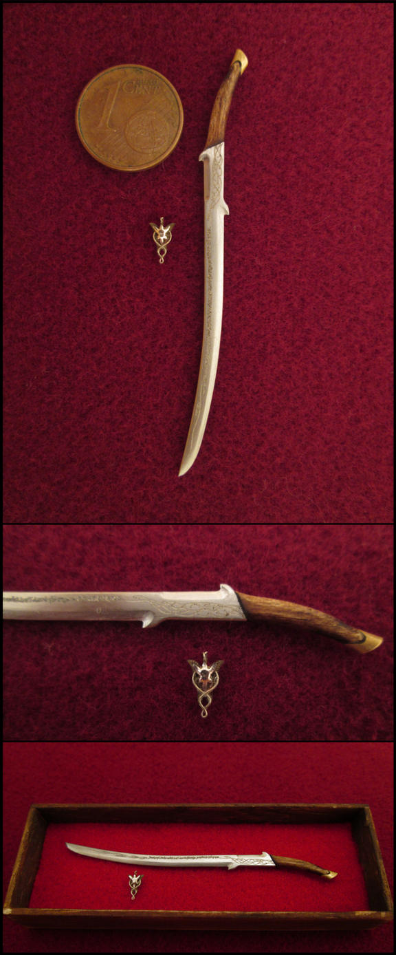 Hadhafang - The Sword Of Arwen by AtriellMe