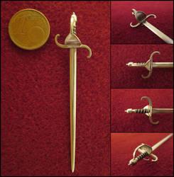 Swedish 17th Century Sword by AtriellMe