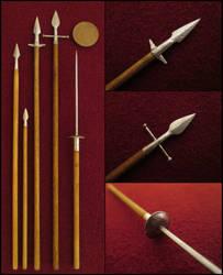 Medieval Spears by AtriellMe