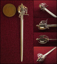 Late 17th Century Scottish Basket Hilt Sword by AtriellMe