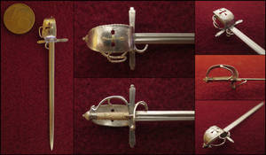 17th Century German Sinclair Hilt Sword by AtriellMe