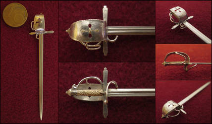 17th Century German Sinclair Hilt Sword by AtriellMe