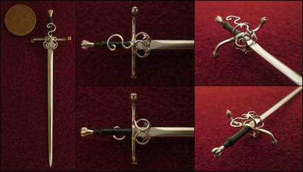Mid 16th Century Germant  Sword With Complex Hilt by AtriellMe