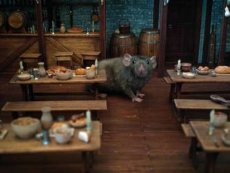 The Rat In The Tavern by AtriellMe