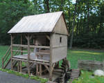 Medieval Mill (Front View) by AtriellMe
