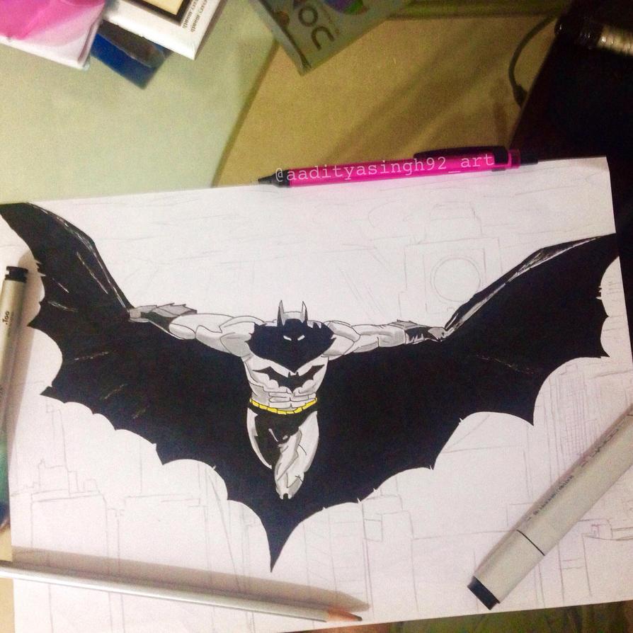 Batman by aadityasingh92