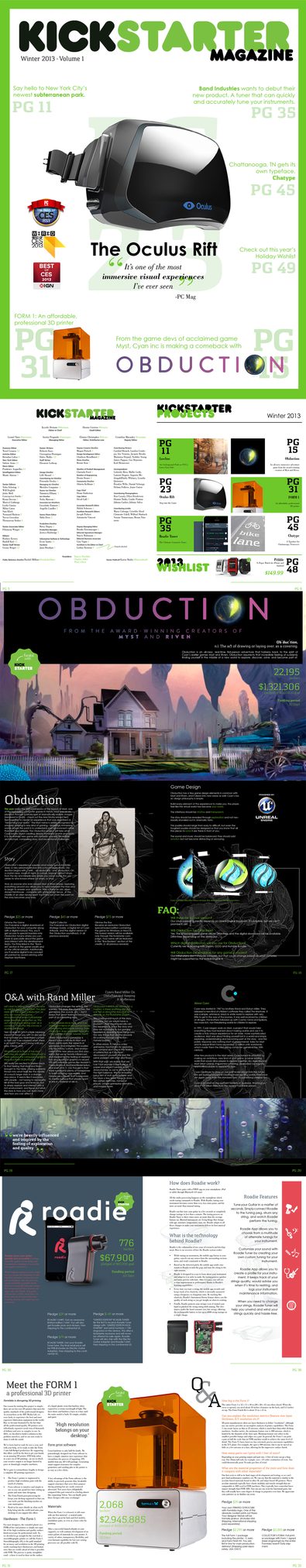 Kickstarter Magazine by chrisringeisen