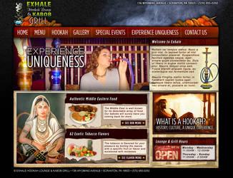 Exhale Hookah Lounge and Grill by Datawalke