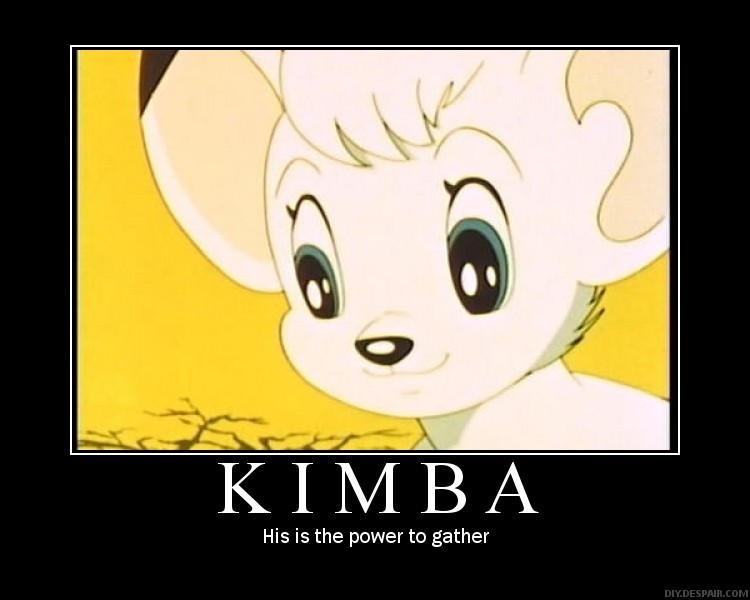 Kimba Motivator Poster