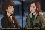 Charlotte and Desmond - Incorrect Quotes Meme