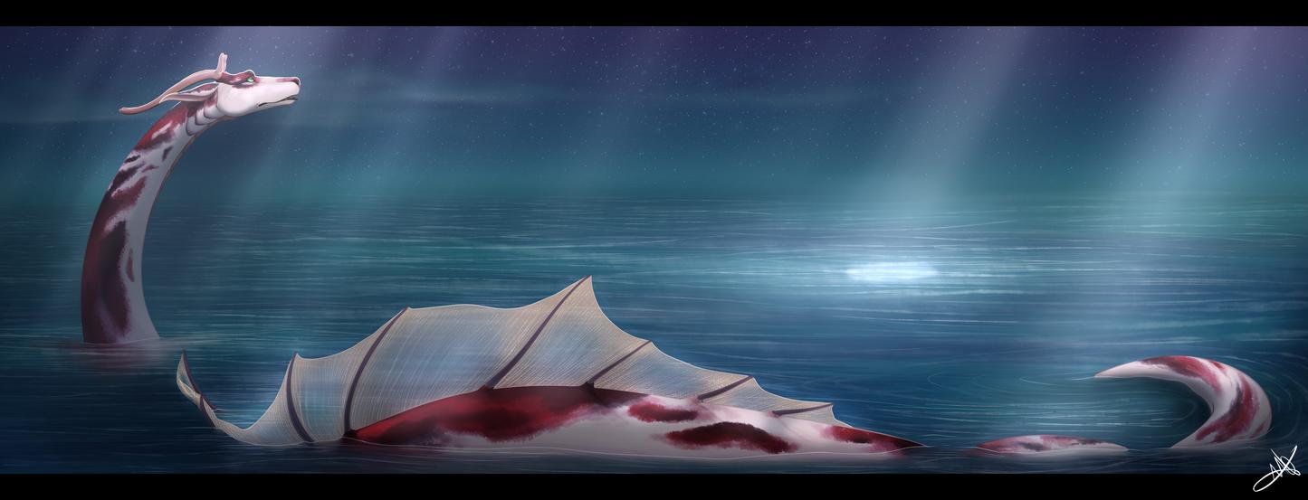 The Deep Blue by Alou412