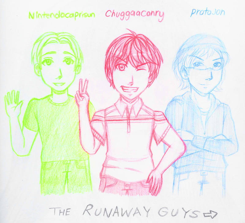 TheRunawayguys by japanindisguise