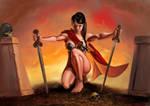 Warrior Lady 02