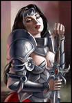 Warrior Lady 04