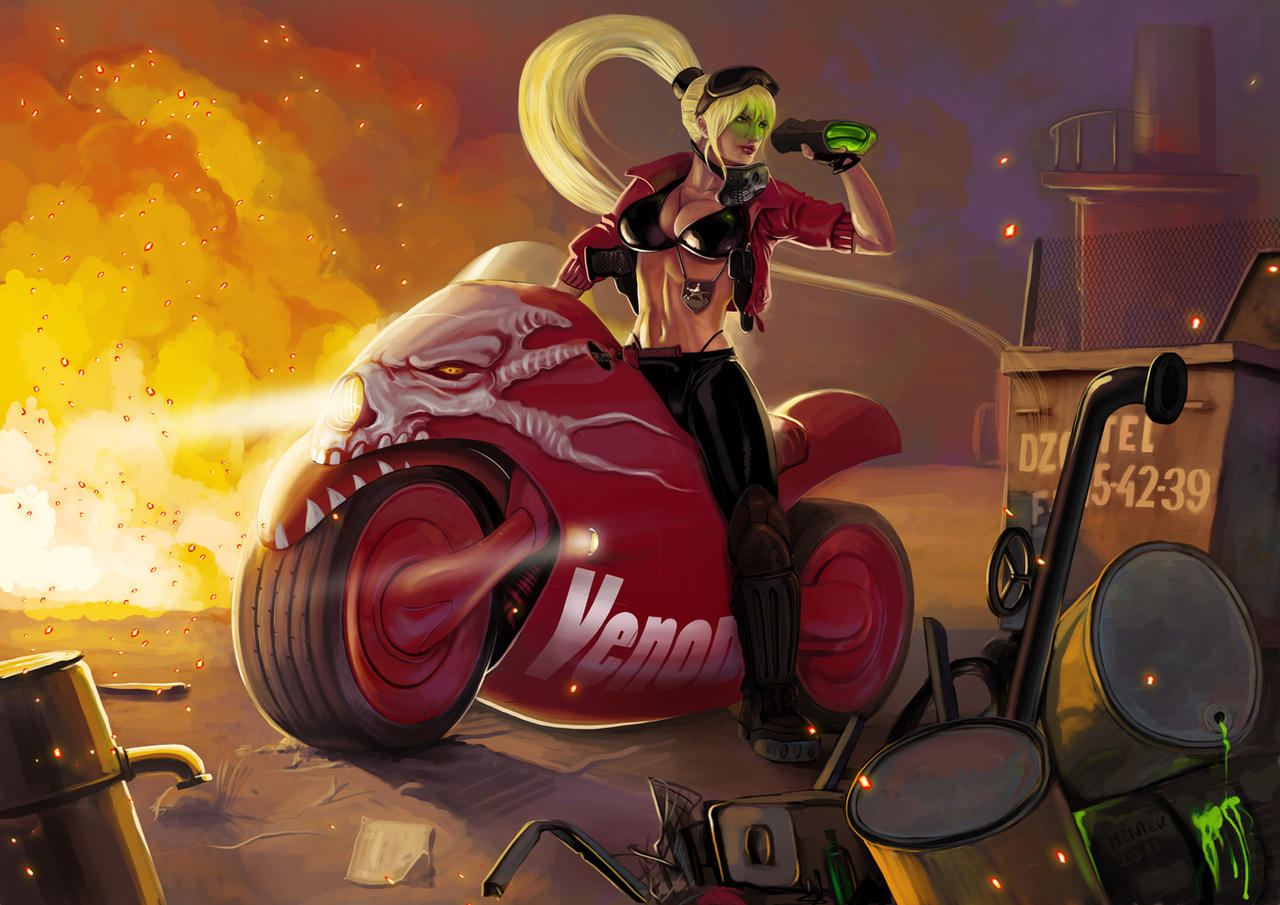 Venom by Deathfeniks
