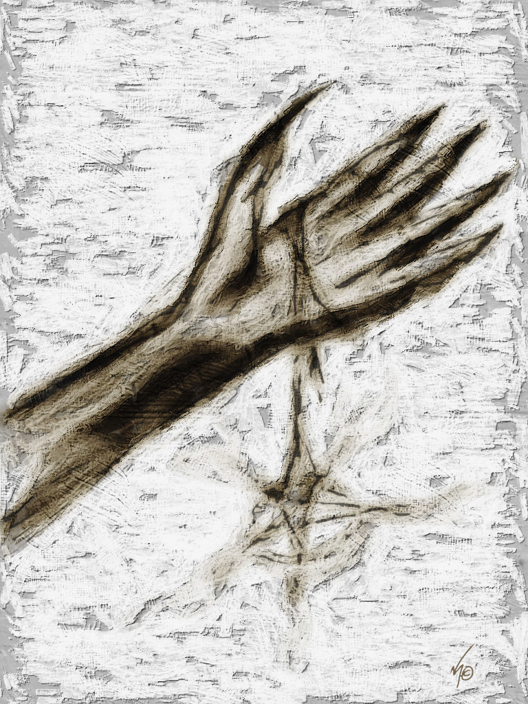 The Hand by Rhunyen