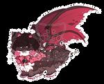 O-0298 Devilish Valentine Cookie by SooshDatabase